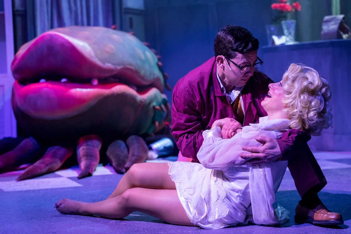 Pulp Friction: A Review of Little Shop of Horrors at Mercury Theater Chicago